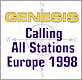 Genesis - Calling All Stations Tour 1998 - Tourbericht