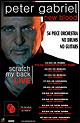 Peter Gabriel - New Blood Tour - Tourdaten 2010 / 2011 / 2012