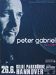 Peter Gabriel - Warm Up Tour - Tourdaten 2007