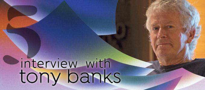 Tony Banks: New Album FIVE - The Interview