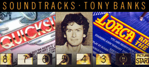 Tony Banks Soundtracks Header