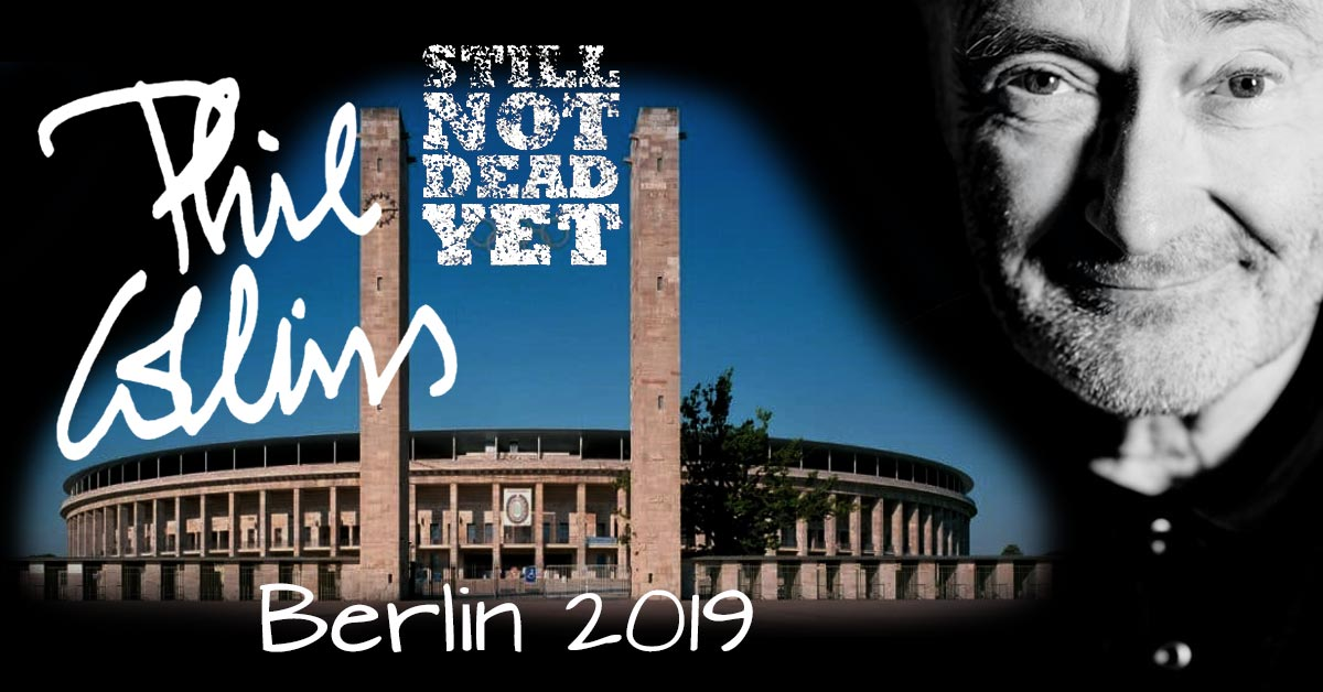 PHIL COLLINS - Still Not Dead Yet in Berlin - gig review
