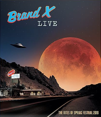 Brand X live Blu-ray