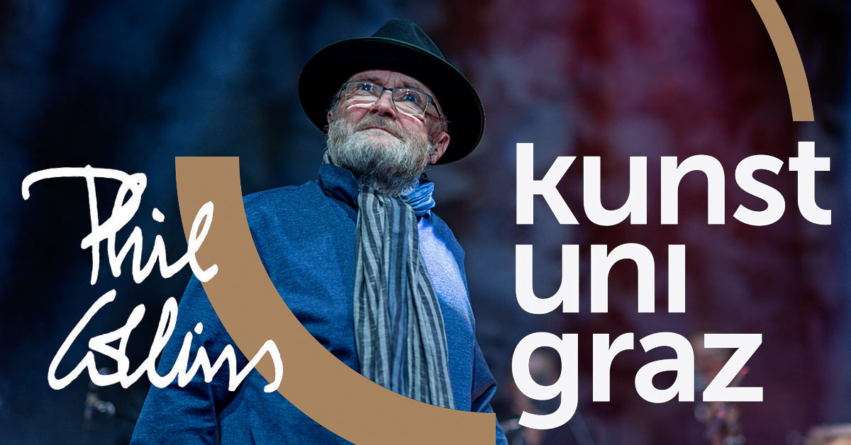 PHIL COLLINS - Honorary Doctorate ceremony in Graz