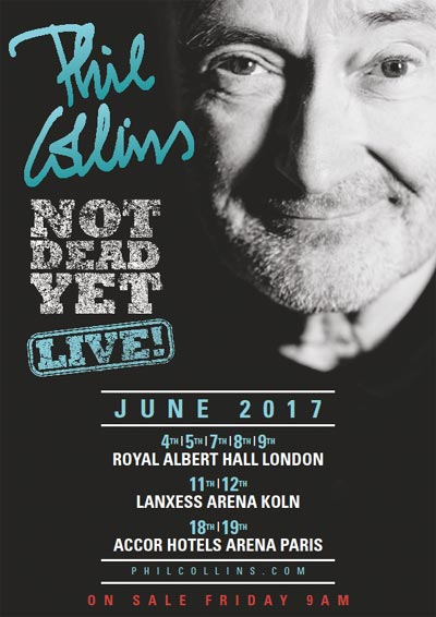 Phil Collins live 2017