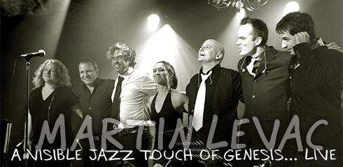 Martin Levac Genesis Jazz Header