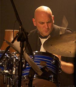 Martin levac drums live