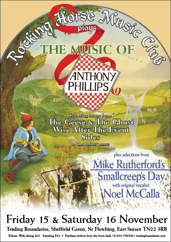 Rocking Horse Music Club performs Anthony Phillips and Mike Rutherford