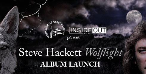 Steve Hackett Wolflight Launch Event 2015
