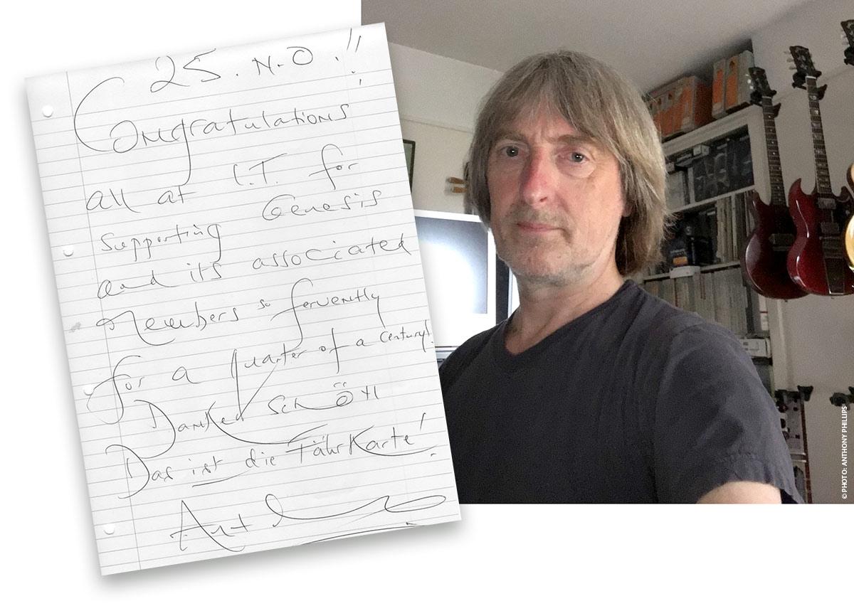 Deutscher Genesis Fanclub It It25 Zum Geburtstag Des