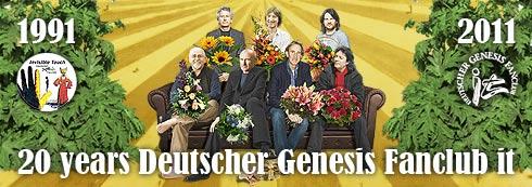 20 Jahre Deutscher Genesis Fanclub it - Website Special