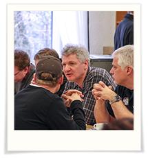 Lamb Event 2012 - professionals discussing