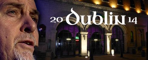 Back To Front Dublin 2014 Header