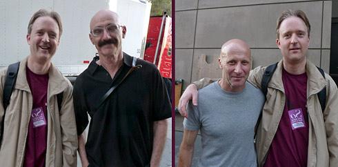 Volker mit Tony und David