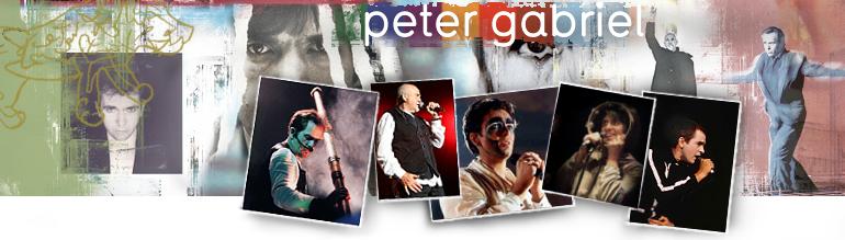 Peter Gabriel Recording Compendium Header