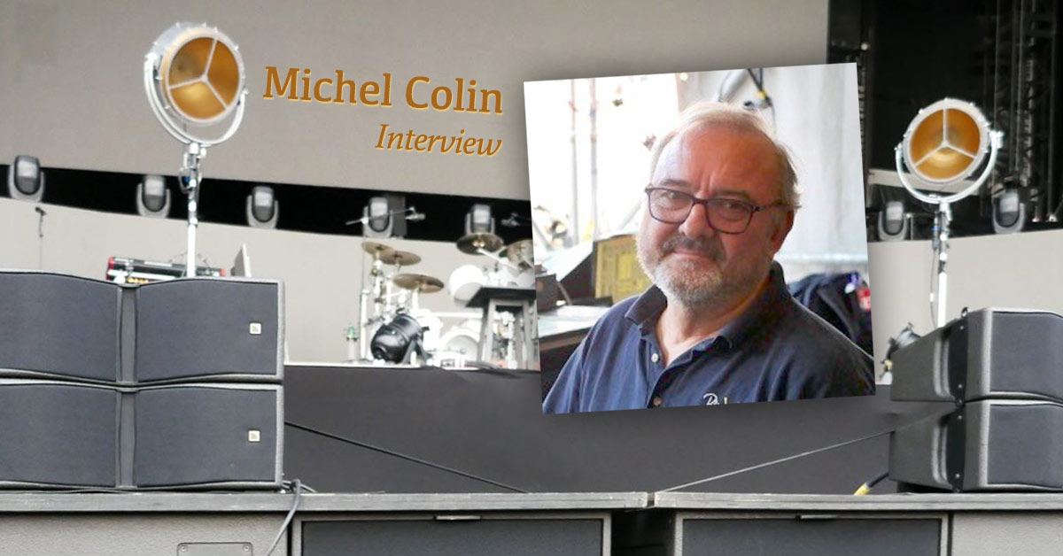 MICHEL COLIN Interview about GENESIS and PHIL COLLINS tours