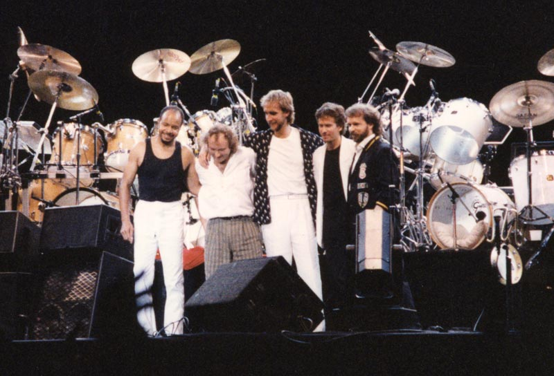 Genesis News Com It Genesis The Invisible Tour 1986