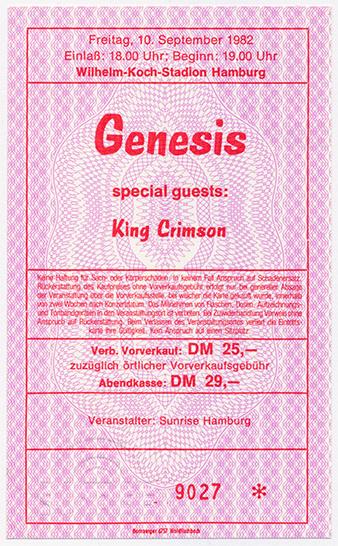 Poster Hamburg 1982