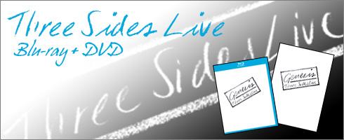 Genesis Three Sides Live Blu-ray Header