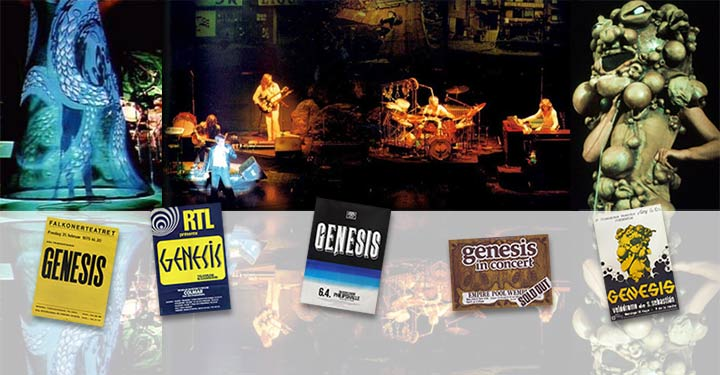 GENESIS: The Lamb Lies Down On Broadway Tour dates