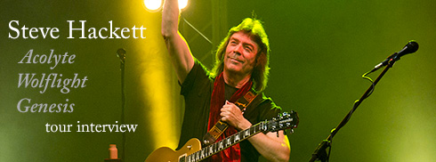 Steve Hackett im Interview: Acolyte To Wolflight With Genesis Revisited 2015