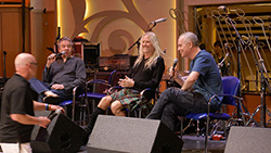 The Mute Gods in conversation at the Cruise To The Edge 2017