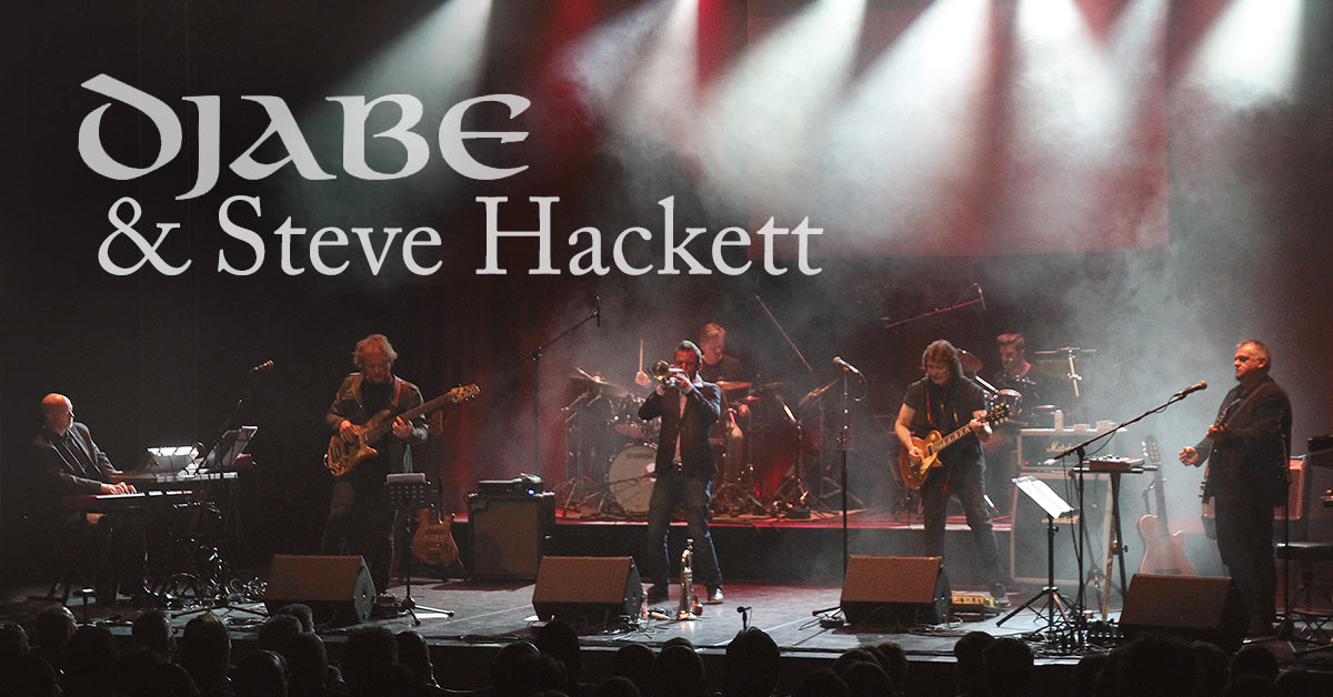 DJABE & Steve Hackett tour dates