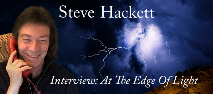 Steve Hackett Interview 2019