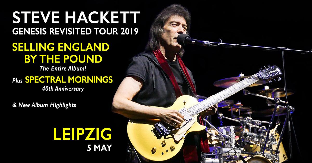 Steve Hackett und Band live in Leipzig 2019