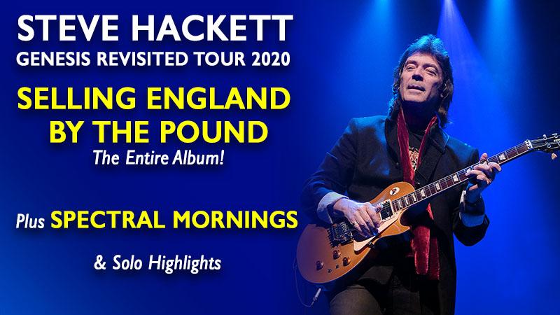Steve Hackett 2020