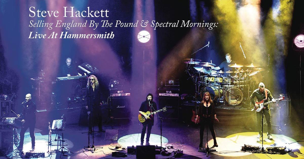 Steve Hackett Hammersmith