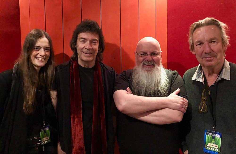 Jo & Steve Hackett, Adrian Holmes, Brian Coles