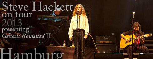 Steve Hackett in Hemburg 2013