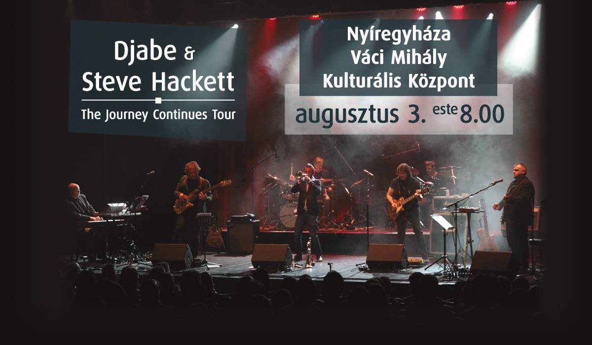 Steve Hackett & Djabe: The Journey Continues live 2019