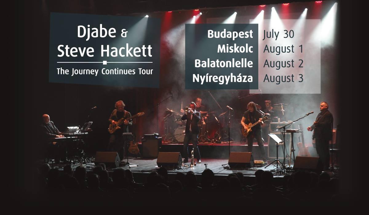 Djabe & Steve Hackett live