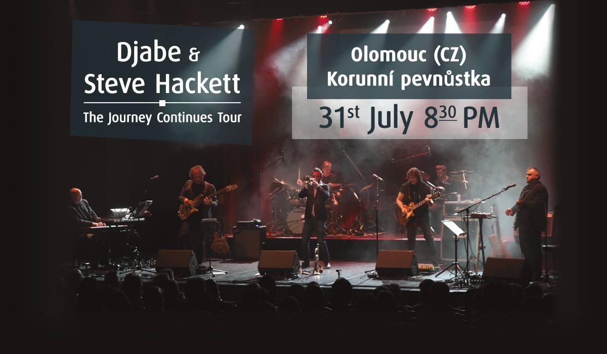 Djabe & Steve Hackett in Olomouc
