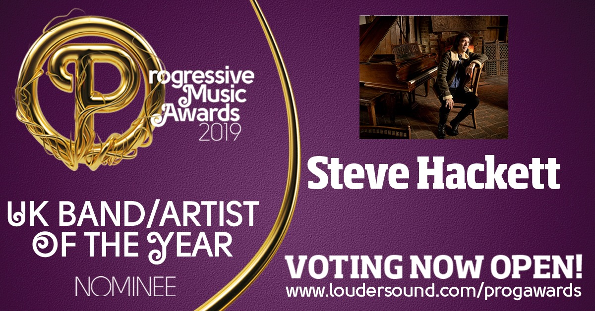 UK Band Artist of the Year - vote for Steve