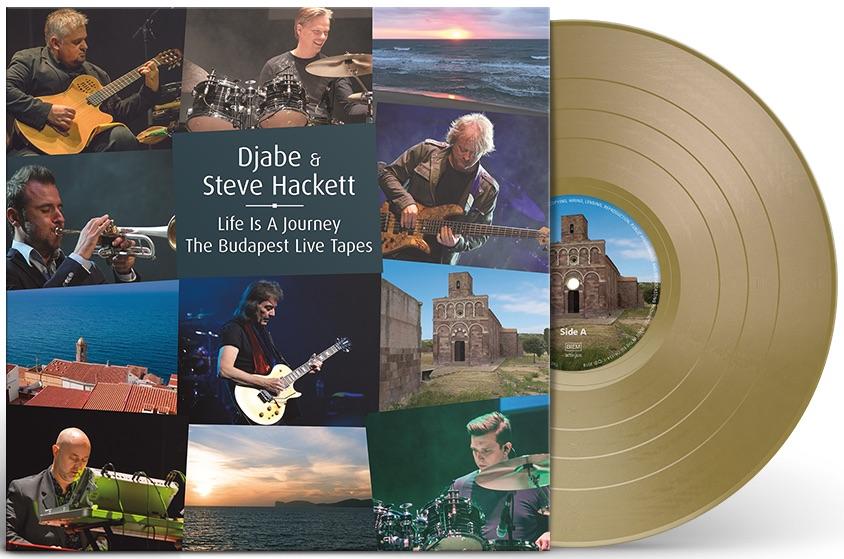 Budpest live gold vinyl