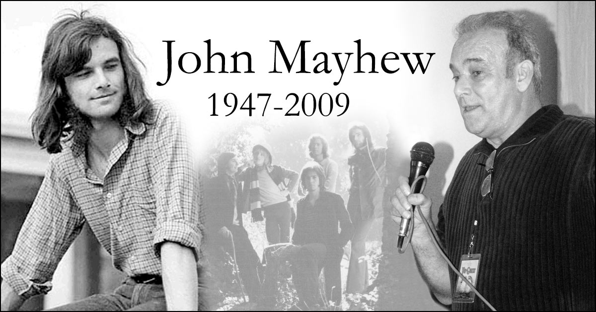 John Mayhew . 10. Todestag