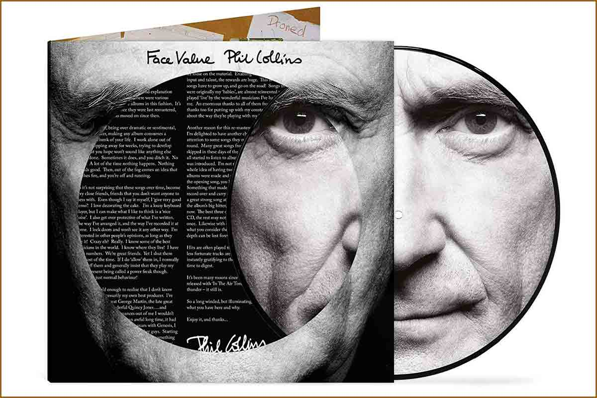 Face Value Picture Disc