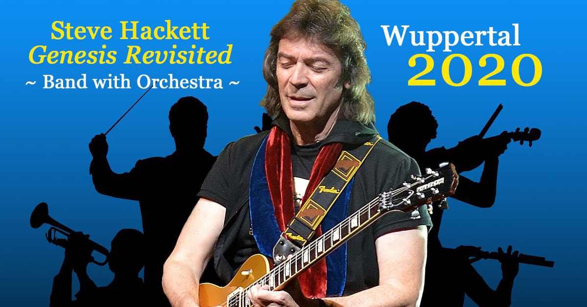 Steve Hackett mit Orchester 2020