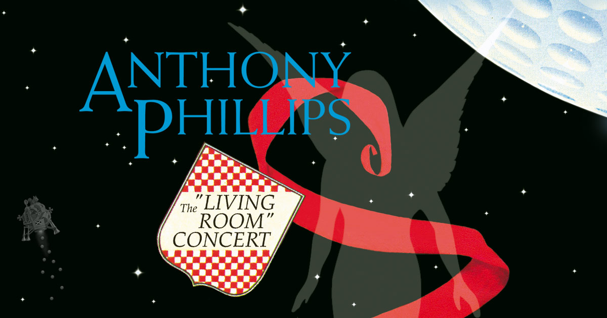 ANTHONY PHILLIPS - The Living Room Concert Expanded Digipak