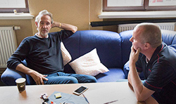 Interview mit Mike Rutherford in Dresden