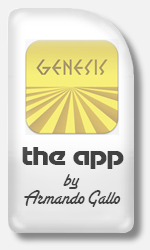 Armando Gallo - Genesis: I Know What I Like App