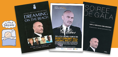 PHIL COLLINS live - Little Dreams Foundation Gala Concerts 2016