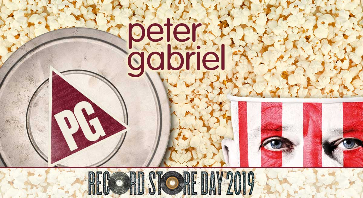 Rated PG | Peter Gabriel album with film songs | Record Store Day