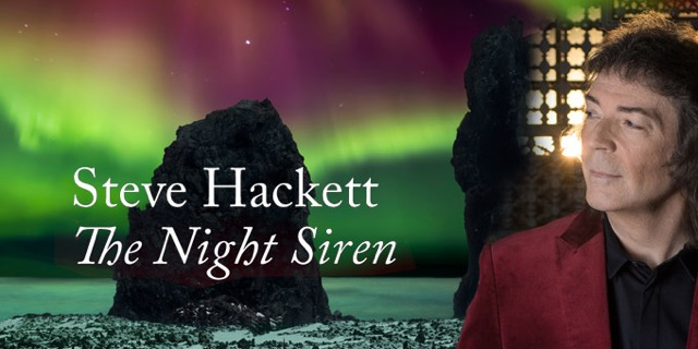 Steve Hackett - The Night Siren - Rezension