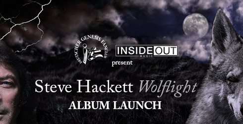 STEVE HACKETT Wolflight ALbum Launch Events 2015