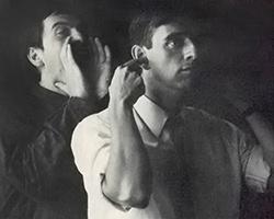 Peter Gabriel und Horst Königstein
