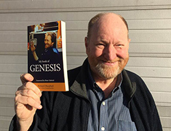 Richard 2017 with his book